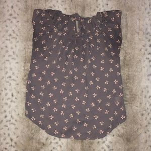 Bow printed Shirt. Size S